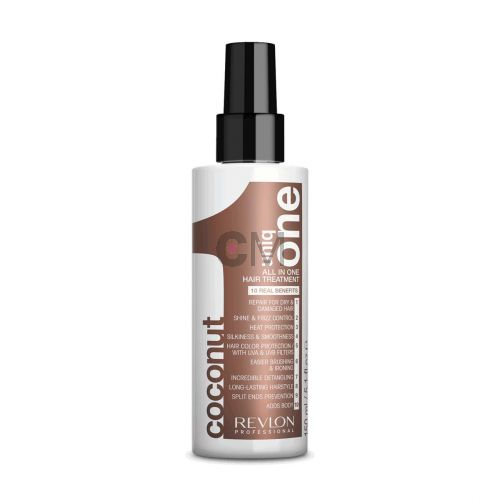 Masque en spray 10 en 1 sans rinçage – Uniq One Coconut