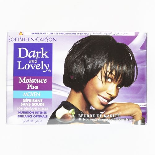 Kit de lissage Super Relaxer Dark and ​​Lovely - Moisture Plus