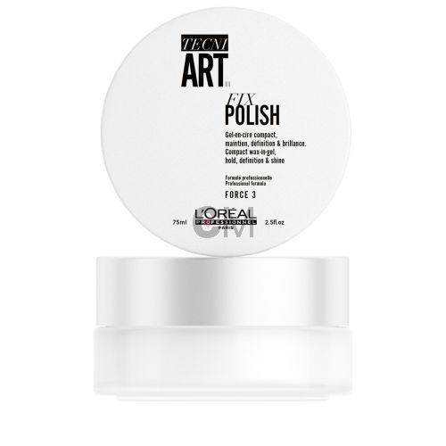 Gel FIX POLISH TECNIART - 75 ml - Gel-en-cire compact - FORCE 3