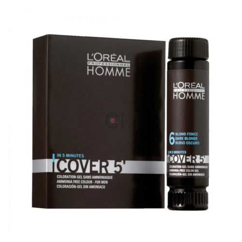 Coloration-gel sans ammoniaque pour homme – Cover 5'
