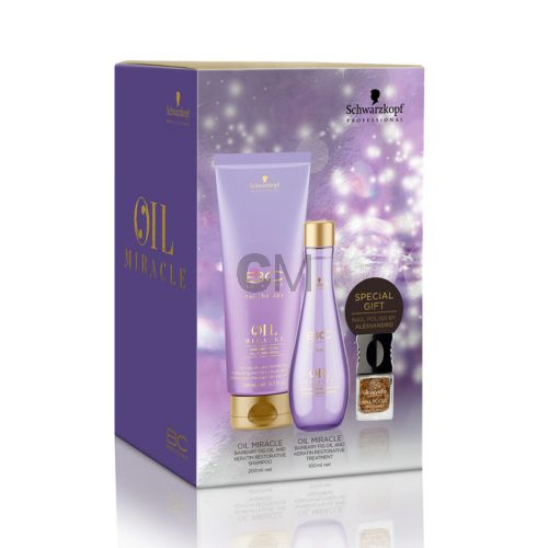 Coffret Schwarzkopf Professional BC Oil Miracle Barbary Fig
