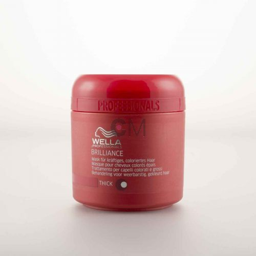 Masque cheveux colorés épais Color Brilliance - Wella Professionals